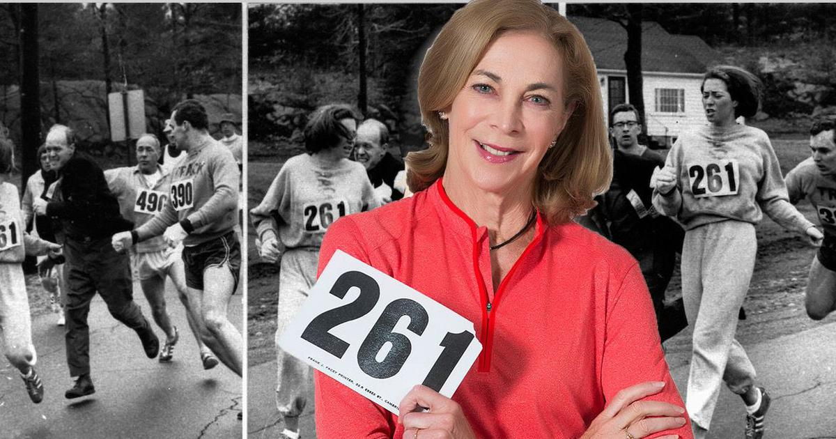 Pause, rewind, play: She was attacked at 1967 Boston Marathon for being a woman – rest is history