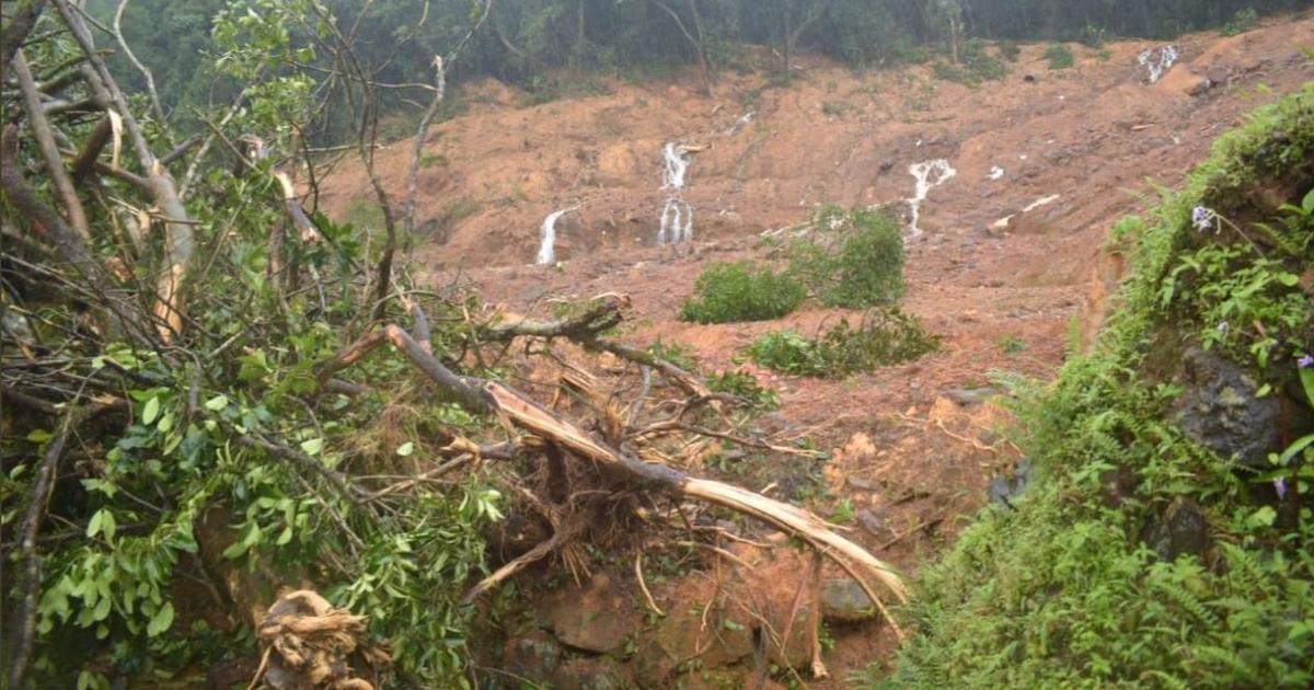 Heavy rain triggers landslides, flood-like situation in Tamil Nadu, Karnataka