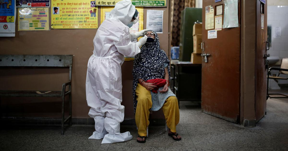Coronavirus: Delhi records highest single-day jump with 4,853 new infections