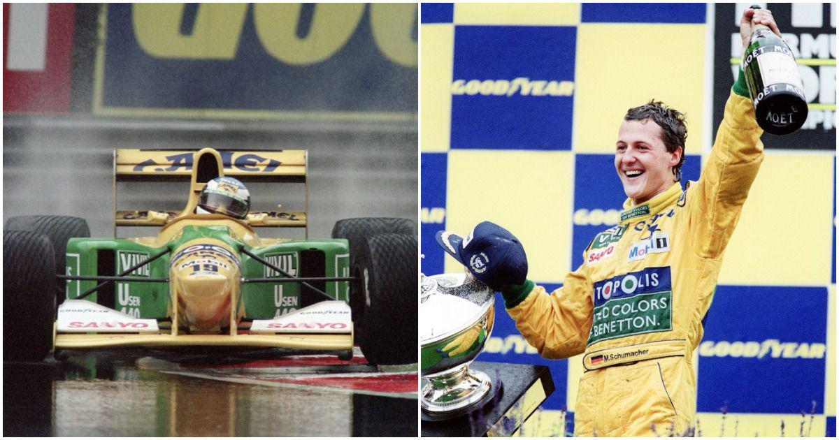 Pause, rewind, play: Michael Schumacher's first F1 race win at Belgian GP – the start of a
