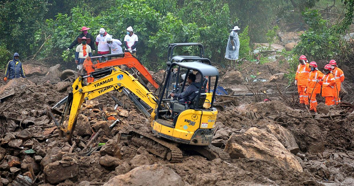 Why do landslides keep occurring in Kerala's Idukki district?