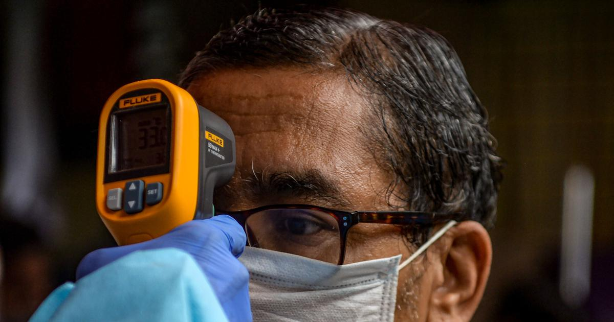 Doctors started measuring body temperature of patients quite recently