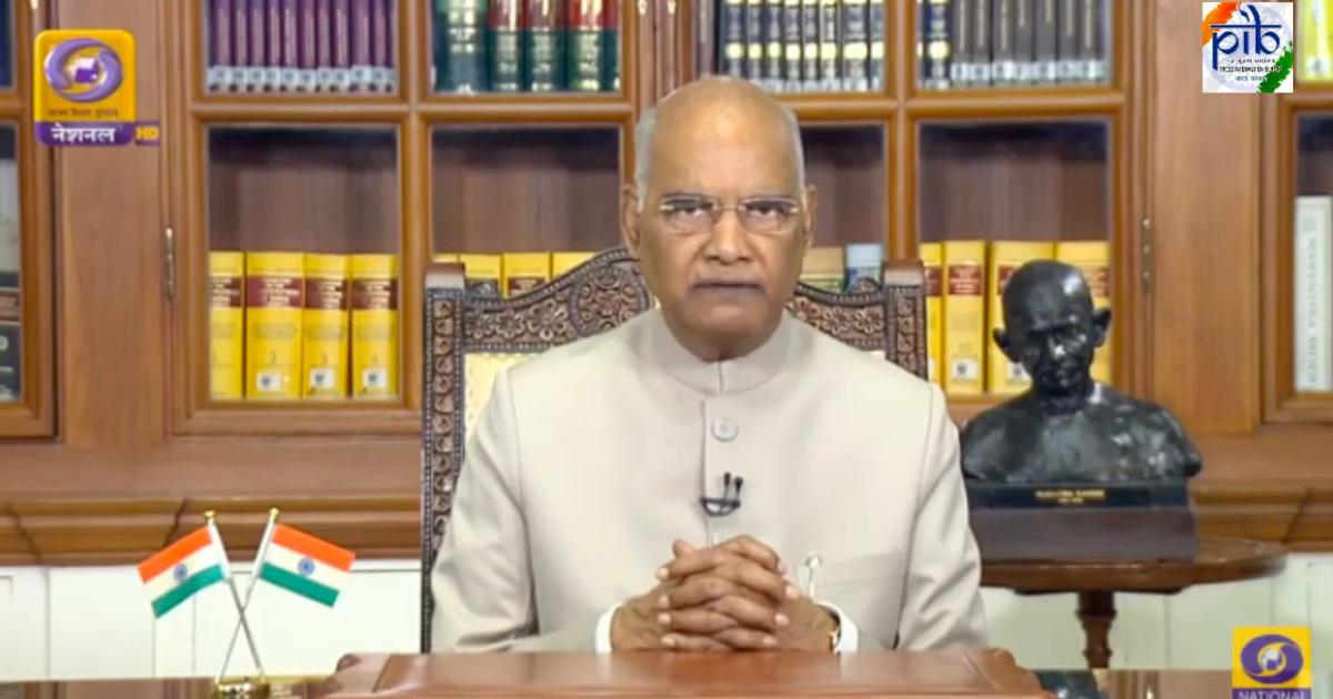 Coronavirus has changed our lives, India indebted to health care workers, says President Kovind