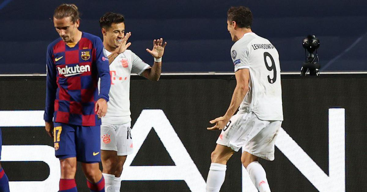 Ucl How Coutinho A Barcelona Player Added Salt To Barcelona S Wounds On A Night Of Humiliation