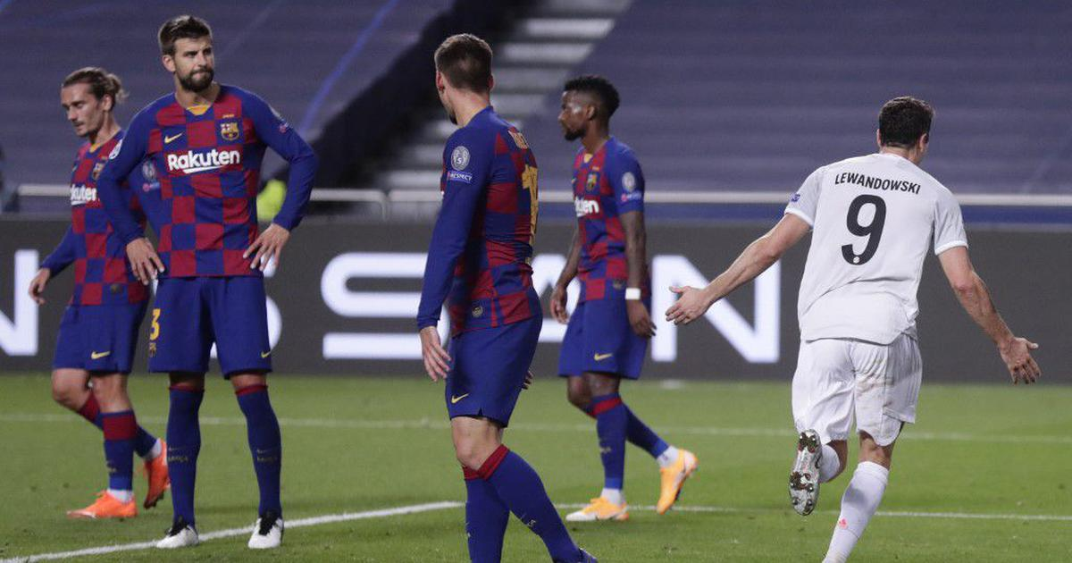 Champions League Quaraterfinal Twitter Reacts To Barcelona S Humiliating 8 2 Defeat Against Bayern
