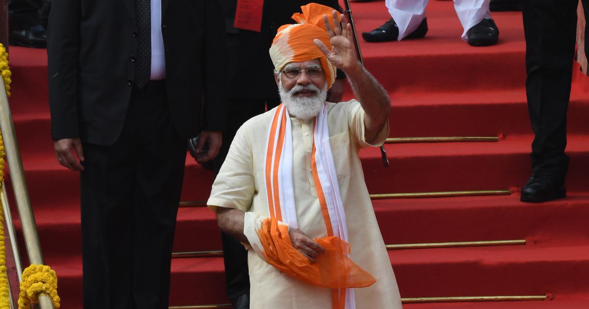 Independence Day: Every village will have optic fibre network in 1,000 days, says Modi