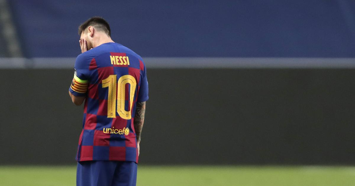 'He's being held hostage': Twitter reacts to Lionel Messi's decision to stay at Barcelona
