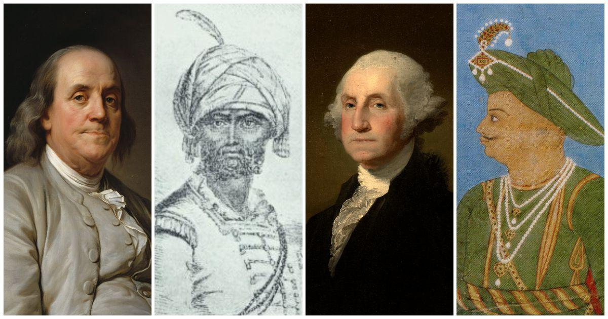 How Tipu Sultan and Haidar Ali inspired America's founding fathers in their quest for freedom