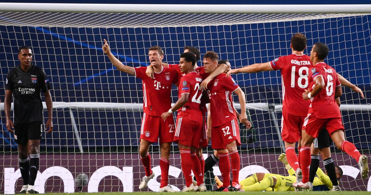 Champions League Bayern Munich Set Up Dream Final Against Psg After Easy Win Over Lyon In Semis