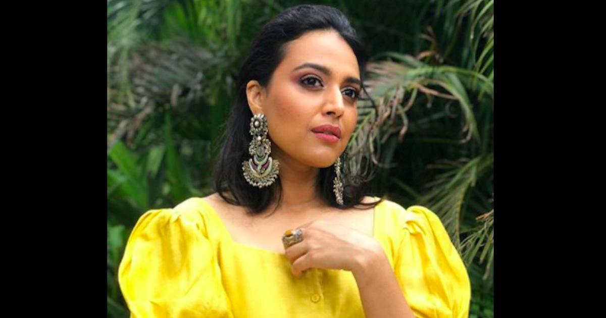 Attorney general declines consent to initiate contempt proceedings against Swara Bhasker