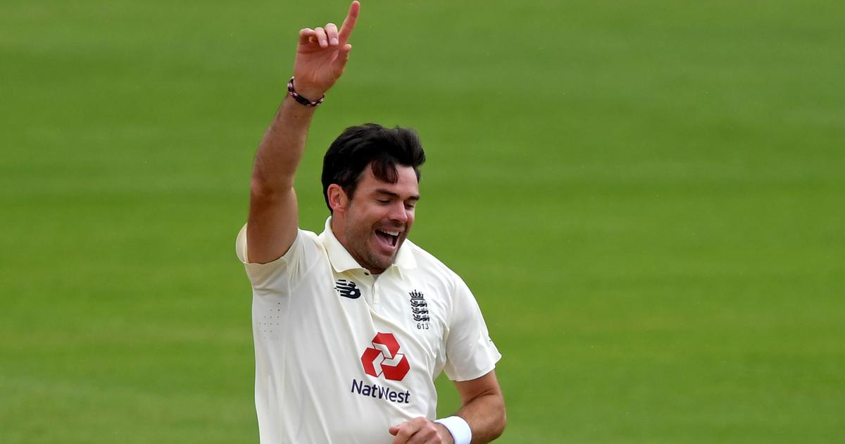 Watch: England's James Anderson becomes the first fast bowler to take 600 wickets in Test cricket
