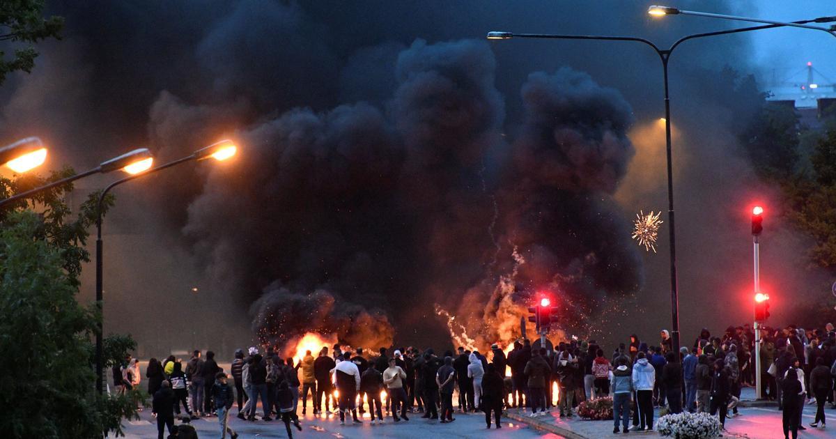 Violence erupts in Sweden after far-right activists burn Quran