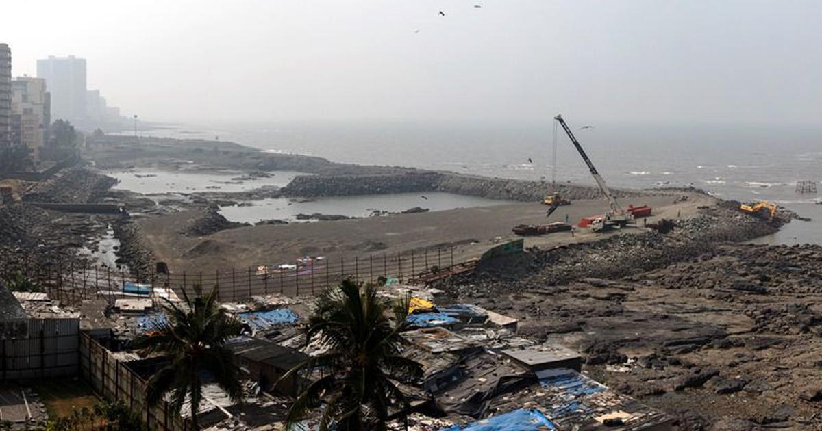 Mumbai's Coastal Road: Making land in a drowning city