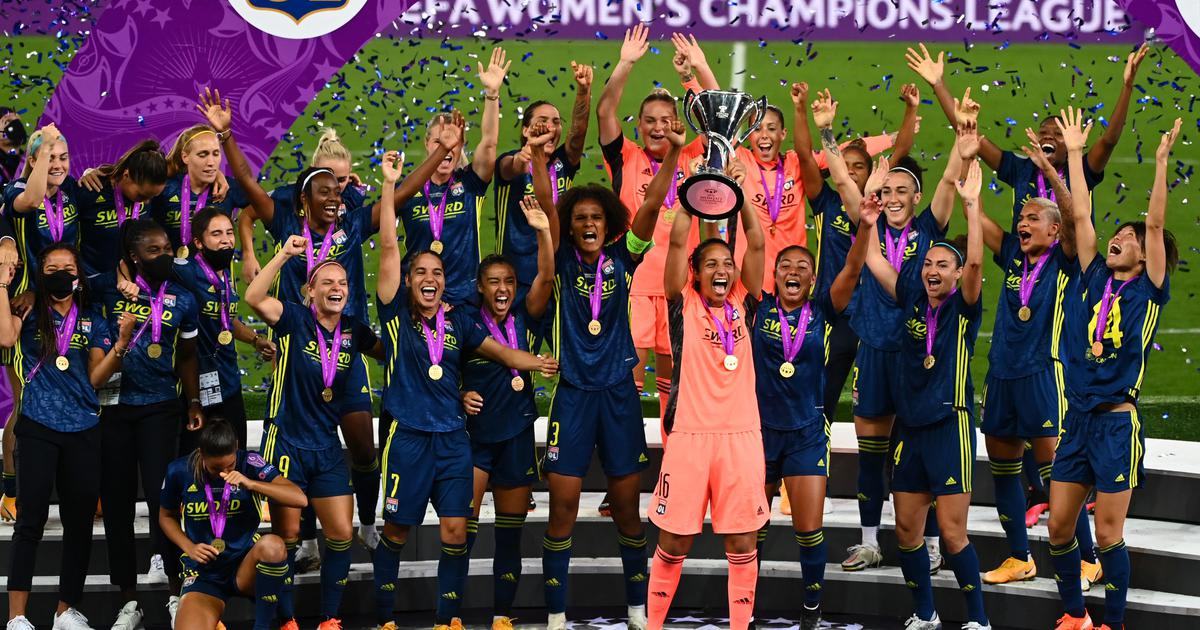 Women's Champions League: Dominant Lyon beat Wolfsburg to claim fifth straight title