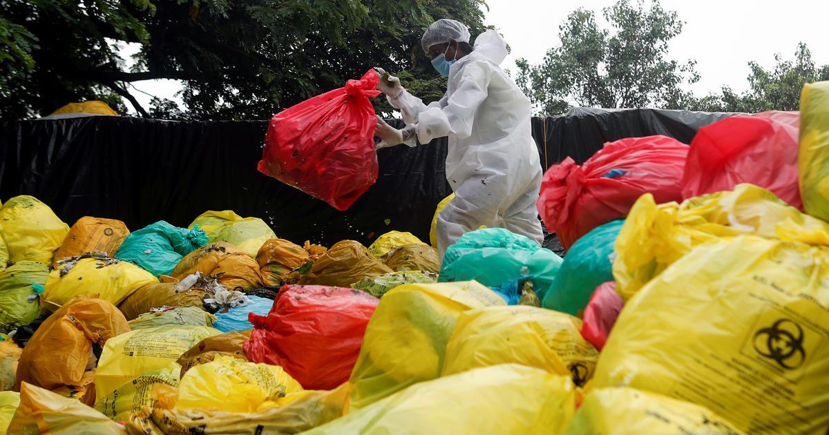 In Mumbai, coronavirus-related waste is piling up