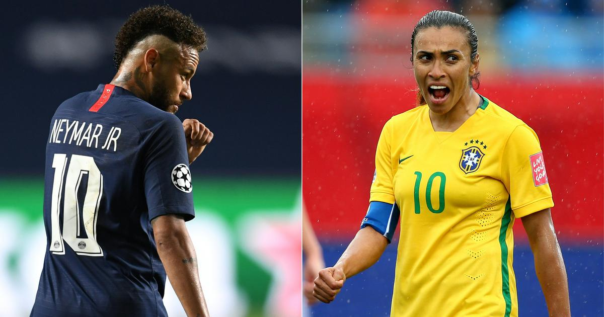 Brazil announces equal pay for men's and women's national football teams