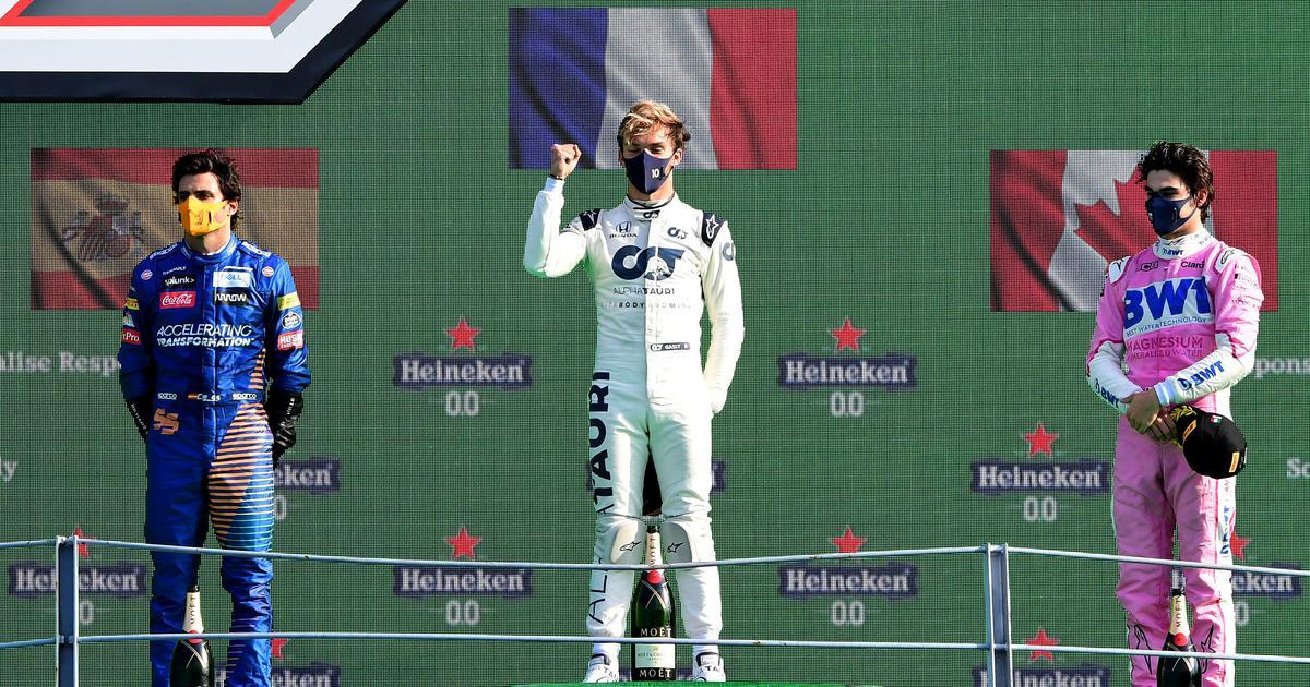 Formula 1: Alpha Tauri's Pierre Gasly claims dramatic win at Italian GP, Lewis Hamilton finishes 7th