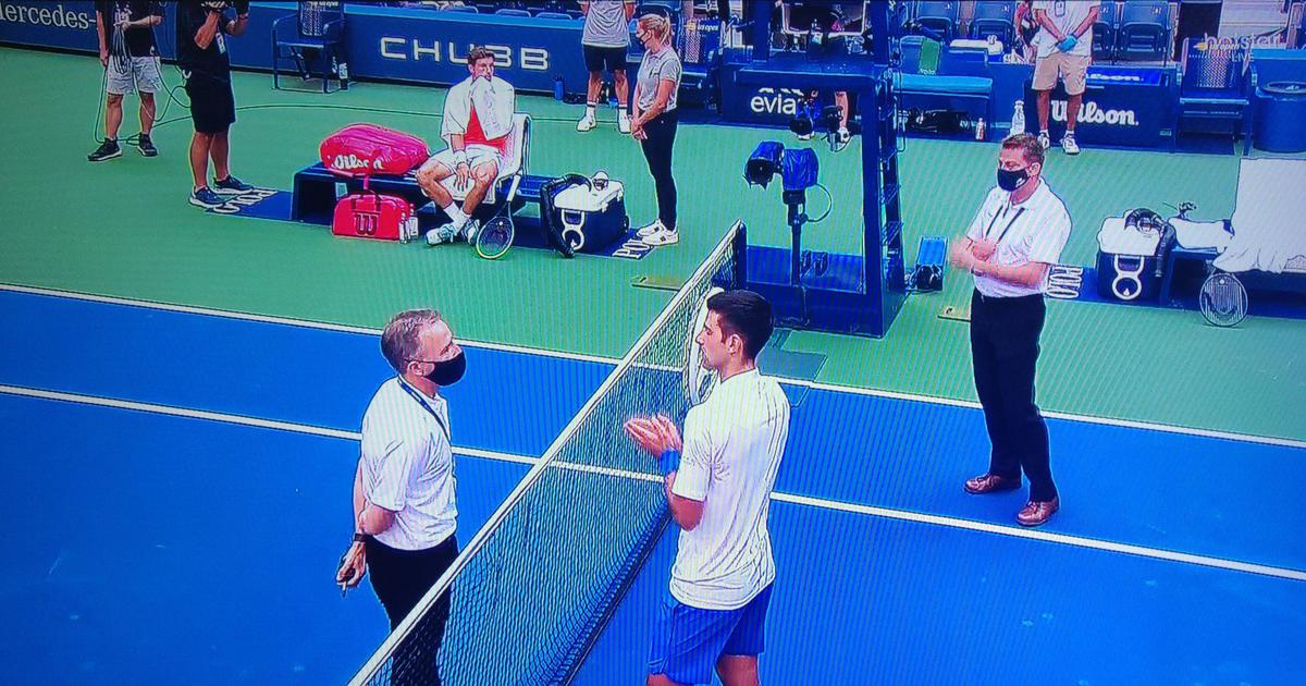 World No 1 Novak Djokovic Defaulted Out Of Us Open 2020 After Hitting Line Judge With Ball