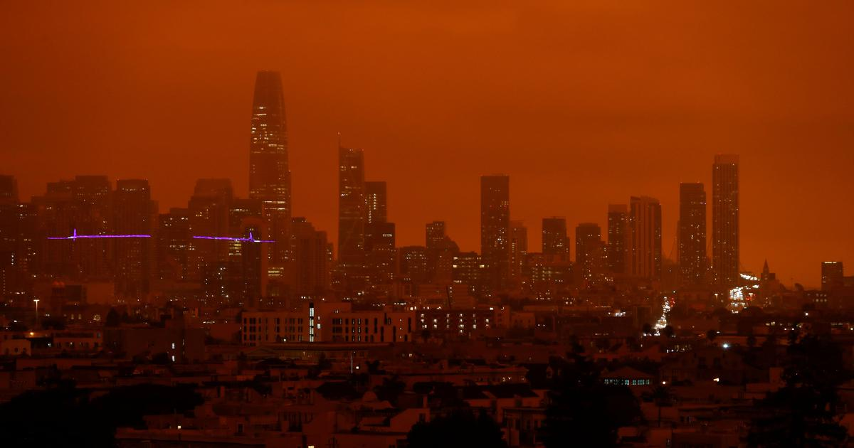 This is why smoke-covered San Francisco looked straight out of a sci-fi film