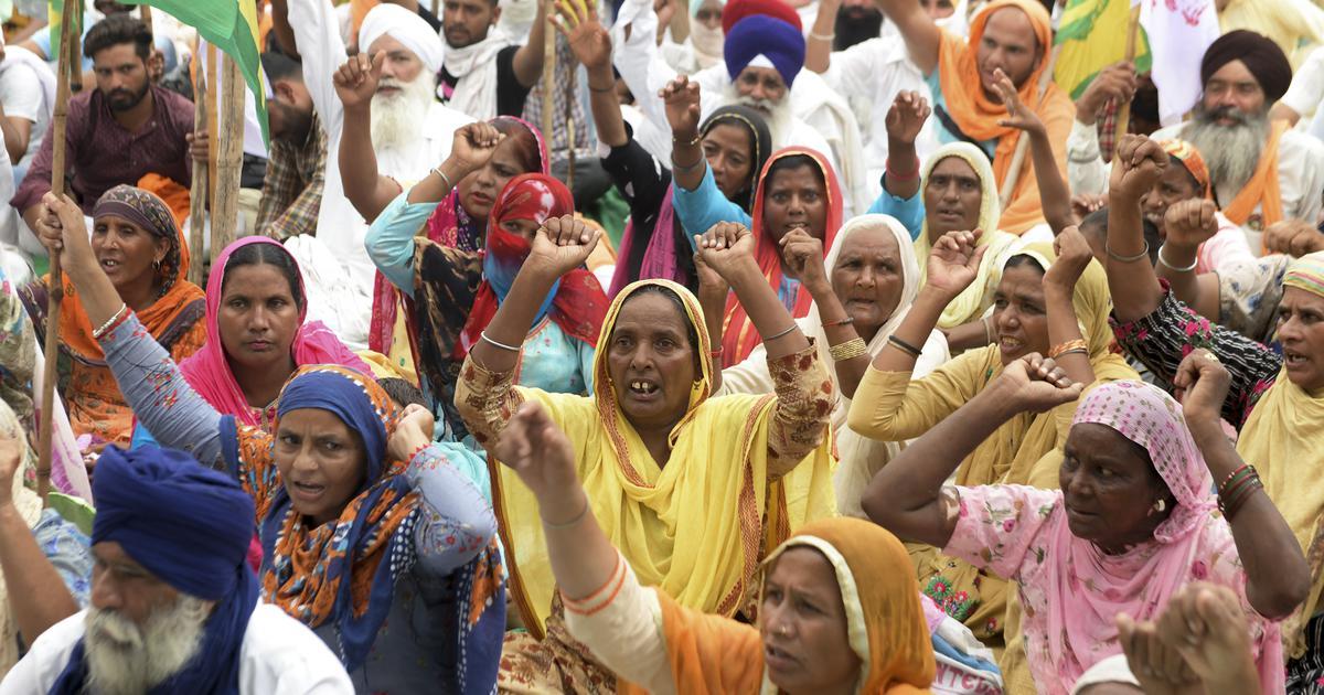 Haryana: Police baton-charge farmers protesting Modi government's farm ordinances
