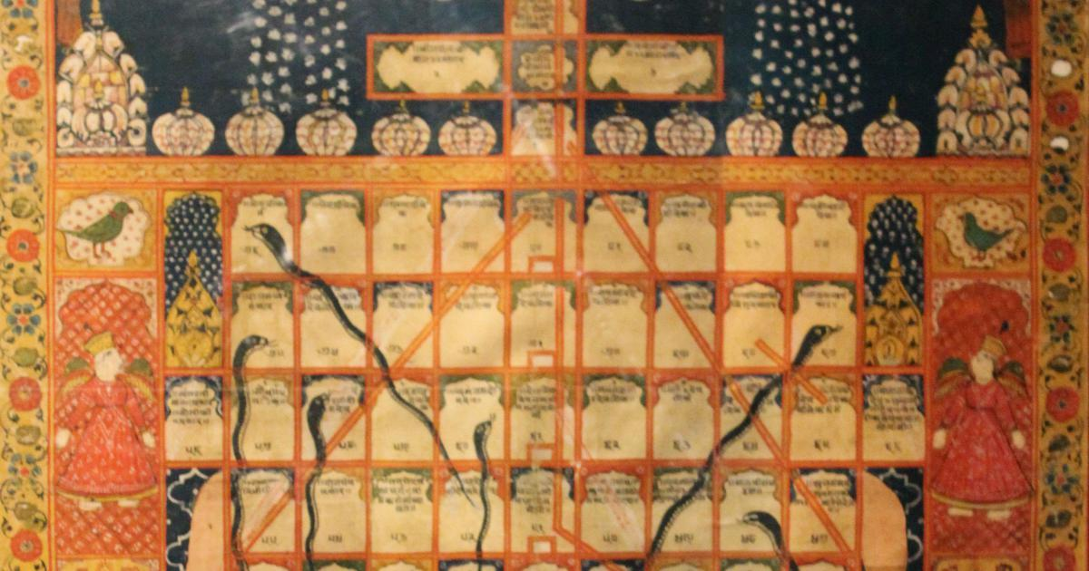 Gyan Chaupar to Snakes and Ladders: How a game about a karmic journey became a plaything for kids