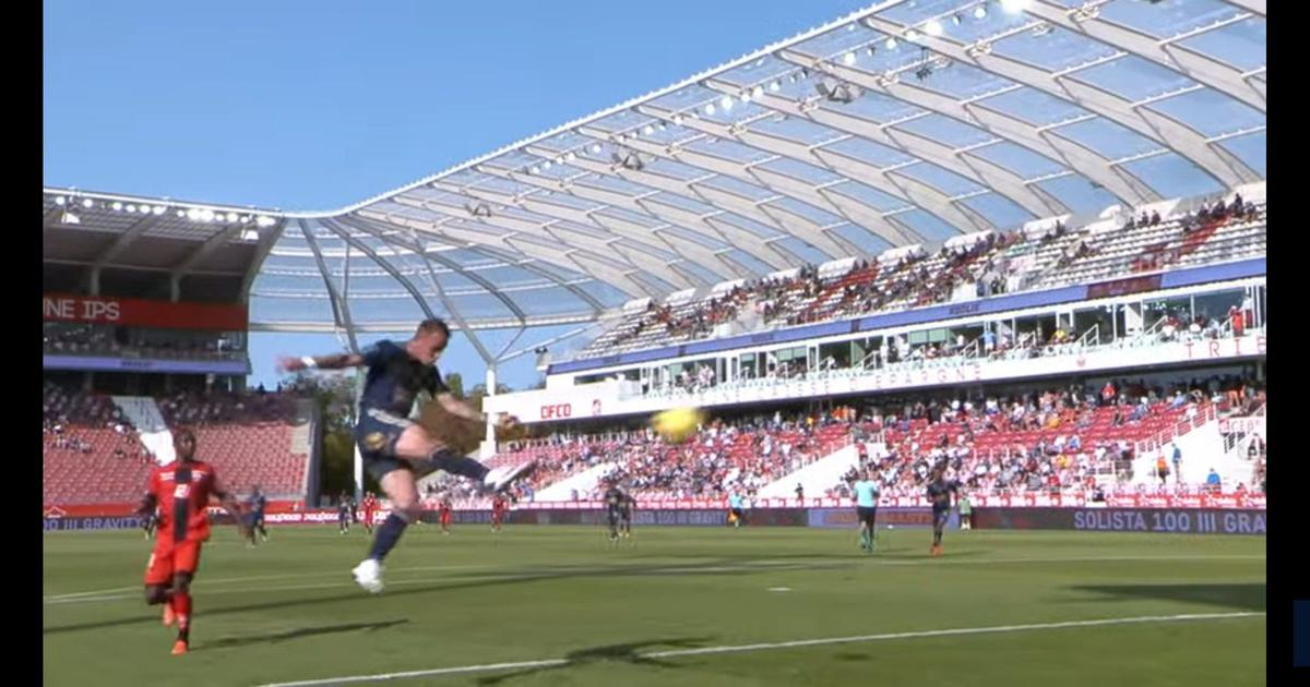 Watch: A physics-defying volley that might just go down as football's most outrageous goal in 2020