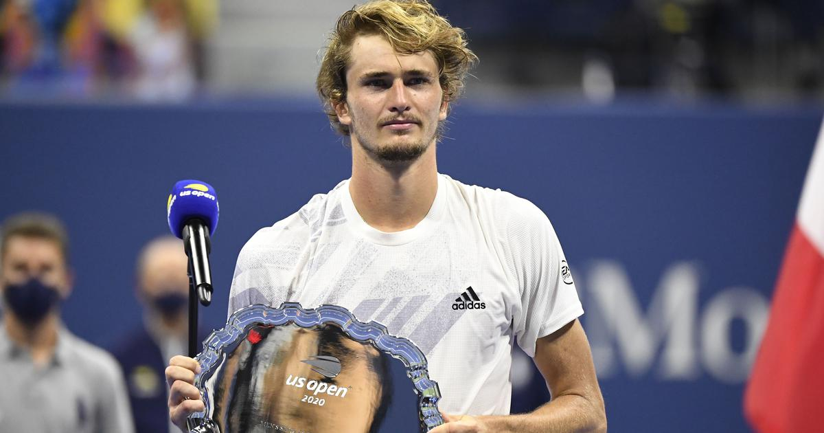 Watch: Alexander Zverev's interview after US Open final – 'I'm 23, don't think it's my last chance'