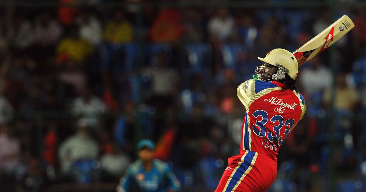 Pause, rewind, play: IPL's greatest moments – remembering Chris Gayle's jaw-dropping 175*