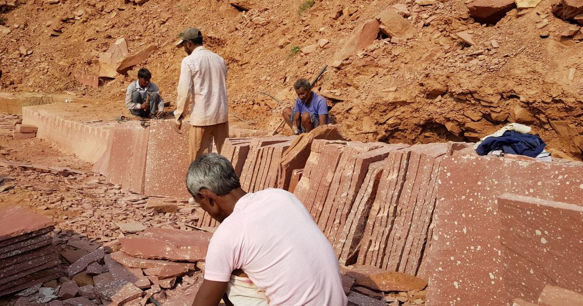 In Rajasthan, sandstone miners and artisans suffering from lung diseases await relief and justice