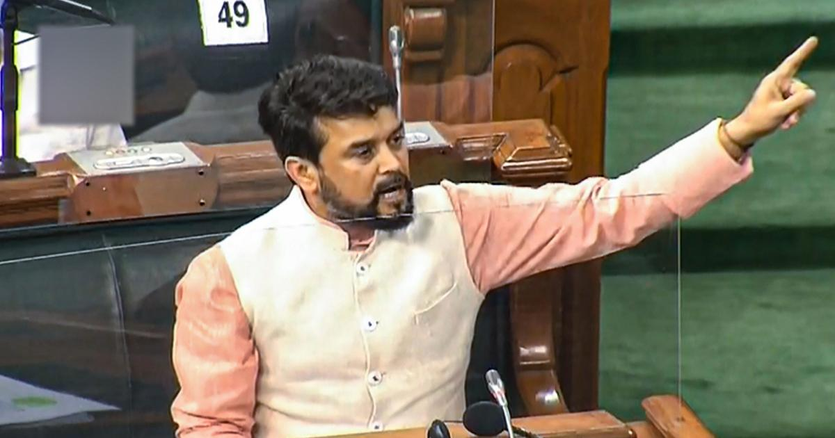 Parliament: PM CARES Fund is absolutely transparent, why is there such distrust, asks Anurag Thakur