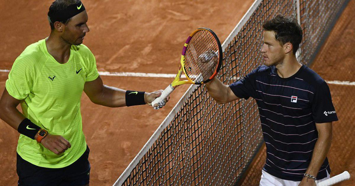 Italian Open: Nadal stunned by Schwartzman in straight sets, frustrated Djokovic battles through