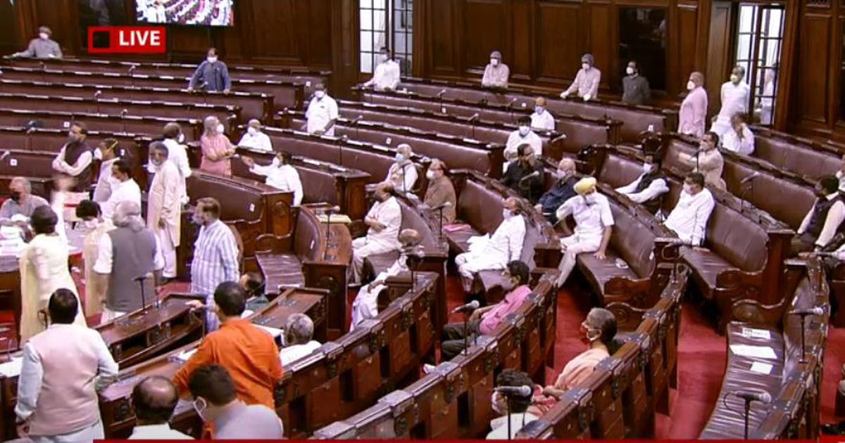 Parliament: Rajya Sabha passes 2 farm bills, Opposition alleges demand for division of votes denied