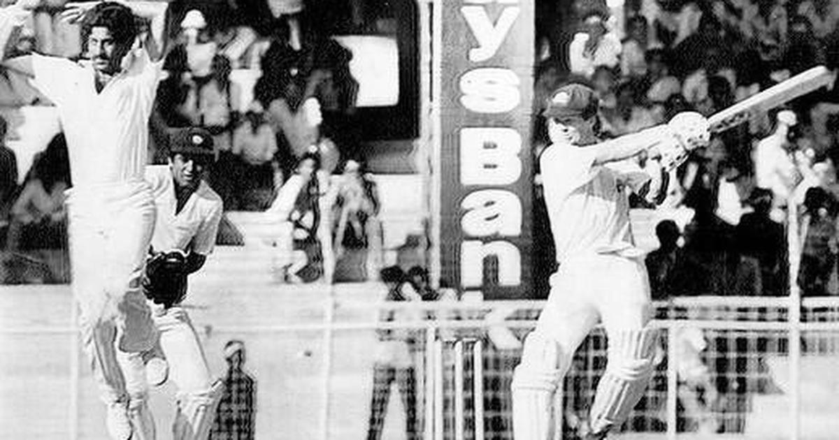 Pause, rewind, play: Dean Jones and the epic tied India-Australia Test match in Chennai
