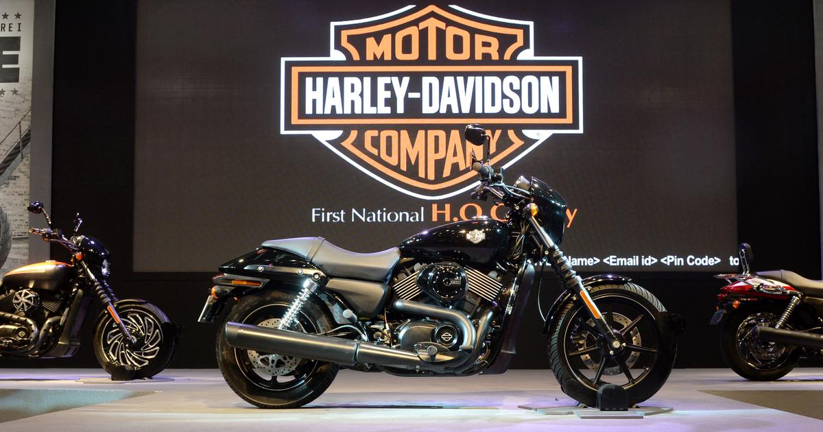 Harley-Davidson stops manufacturing, sales operations in India