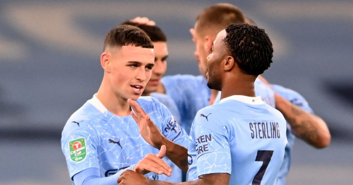 League Cup: Phil Foden sends Manchester City through against Bournemouth, Liverpool smash Lincoln