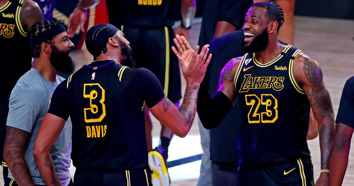 NBA: Davis-James shine as Lakers hold off Nuggets to take 3-1 Western Conference finals lead