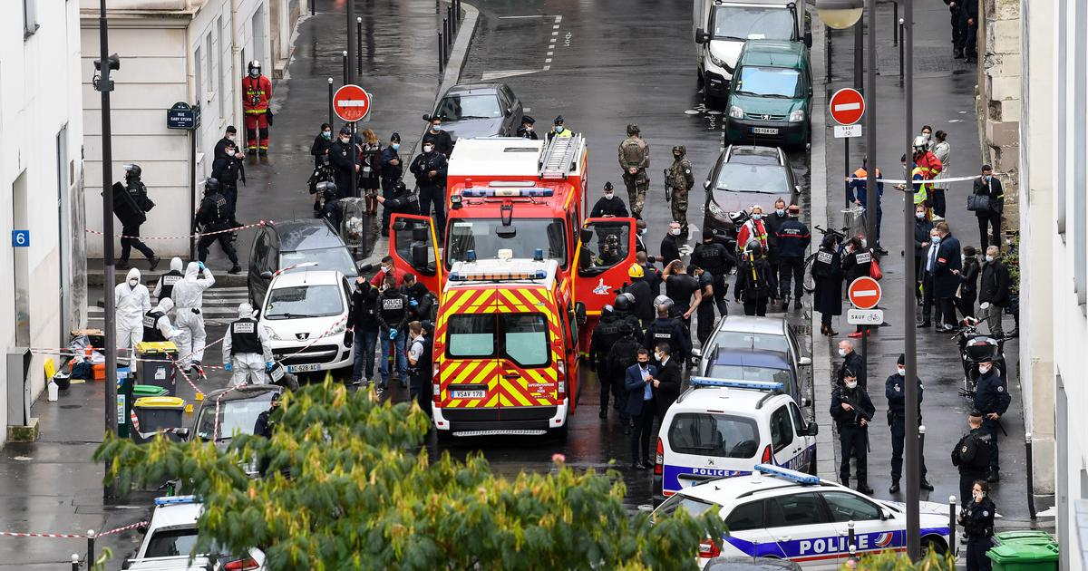 Paris: At least two injured in knife attack near former Charlie Hebdo office, two suspects arrested