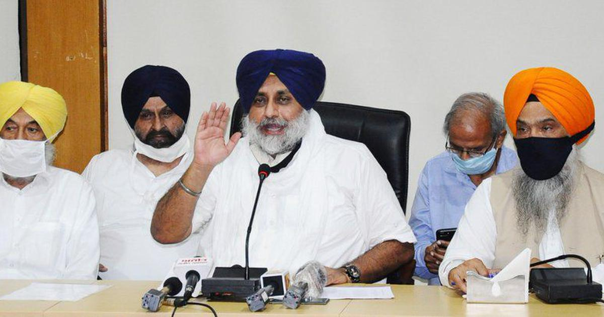 Shiromani Akali Dal quits BJP-led National Democratic Alliance over farm bills