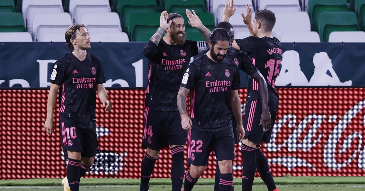 La Liga: Sergio Ramos' late penalty helps Real Madrid see off ten-man Betis for first win of season