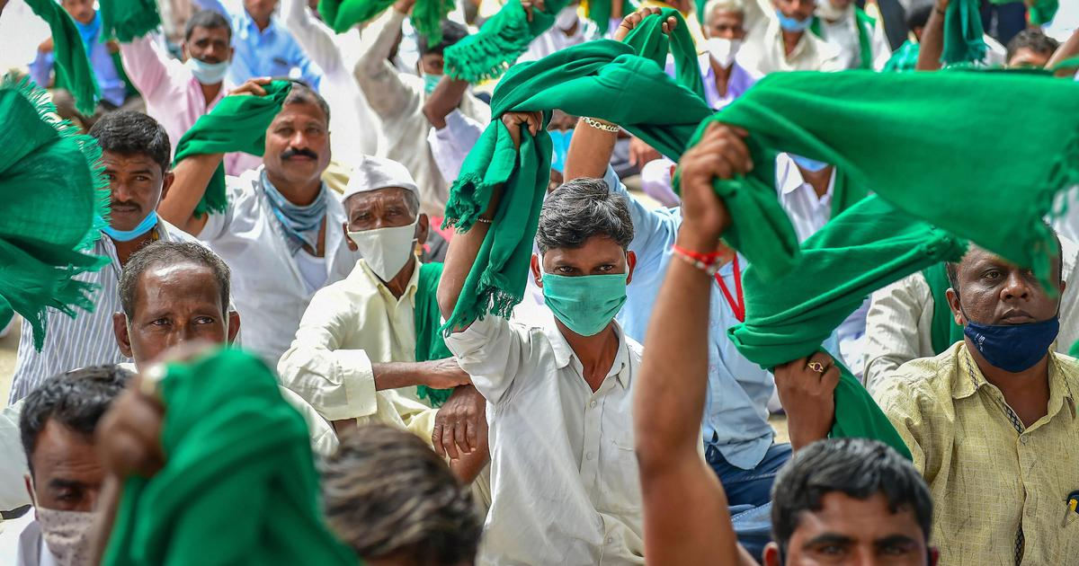 Karnataka shutdown: Congress, JD(S) workers detained as protests against state farm bills intensify