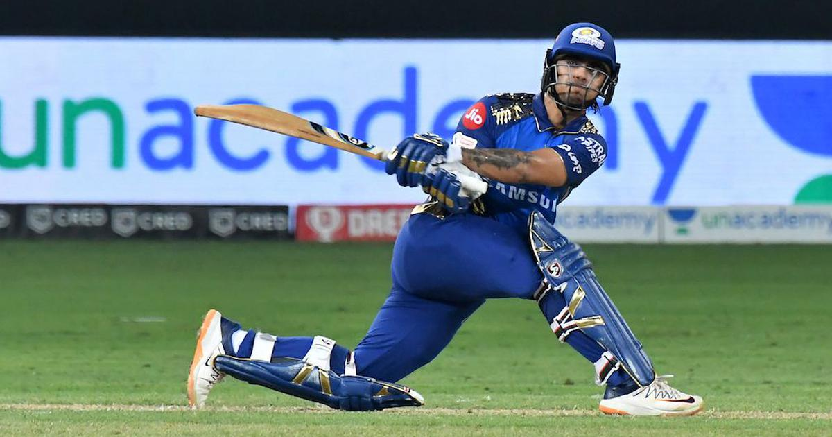 IPL 2020 has seen Ishan Kishan take the centre stage in the star-studded line-up of Mumbai Indians || Image Source: BCCI