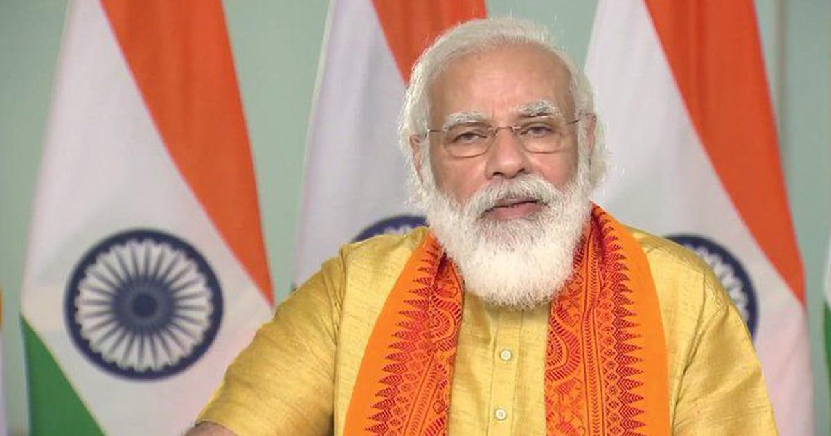 PM Narendra Modi to address nation at 6 pm today