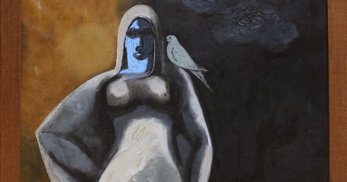 Weekend Quiz: Who was the artist of this painting of a woman with a bird?
