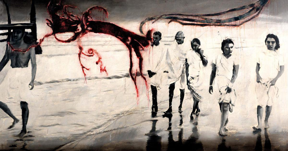 'Artist of disobedience': Five ways in which painters and sculptors have remembered Mahatma Gandhi