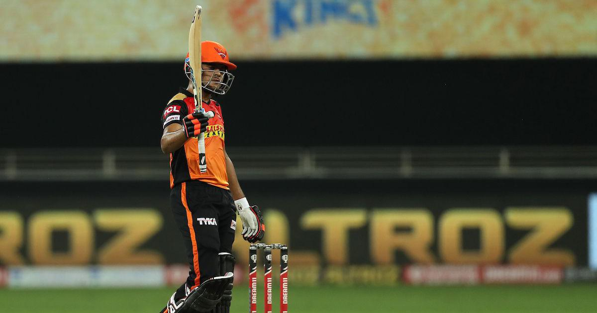 Watch: We know each other and our strengths, says Sunrisers' Garg on match-winning stand with Sharma