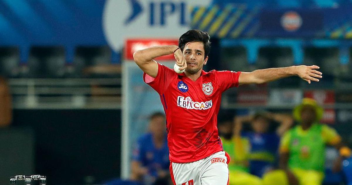 Watch: KXIP leg-spinner Bishnoi's bizarre run-up against CSK raised a few eyebrows