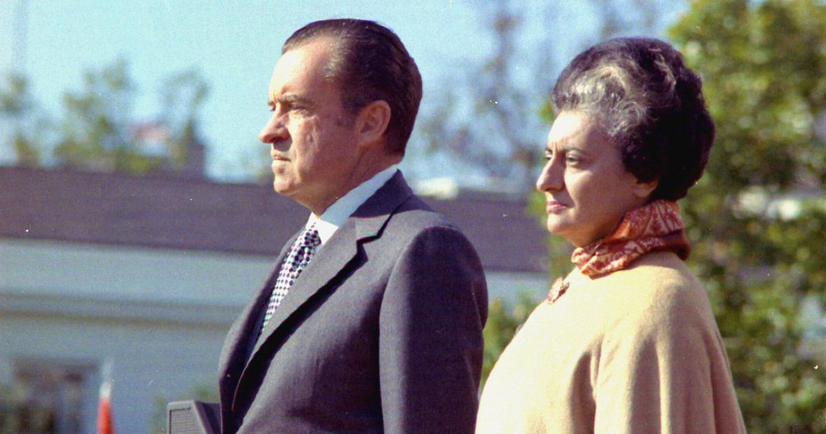 Richard Nixon and British colonialists both viewed Indian women through misogyny-tinted glasses