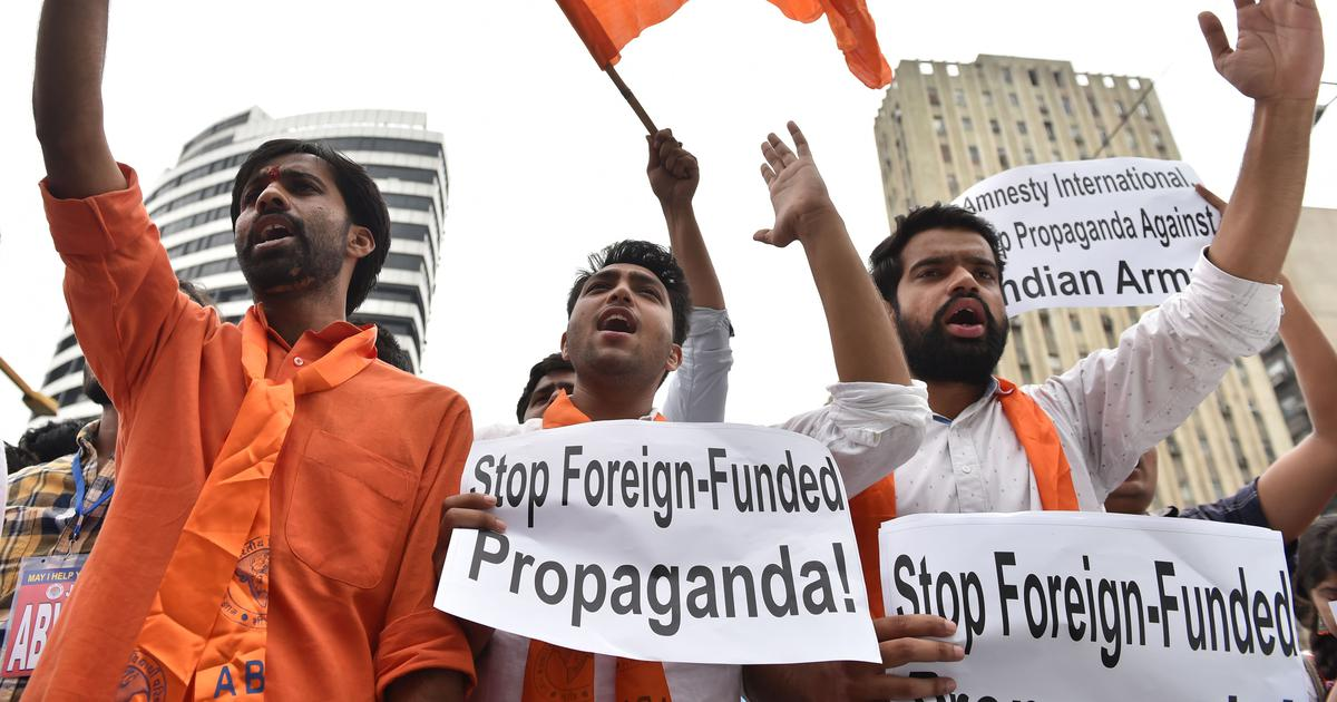 With new NGO curbs, government signals it won't let anyone demand that it protect rights of Indians