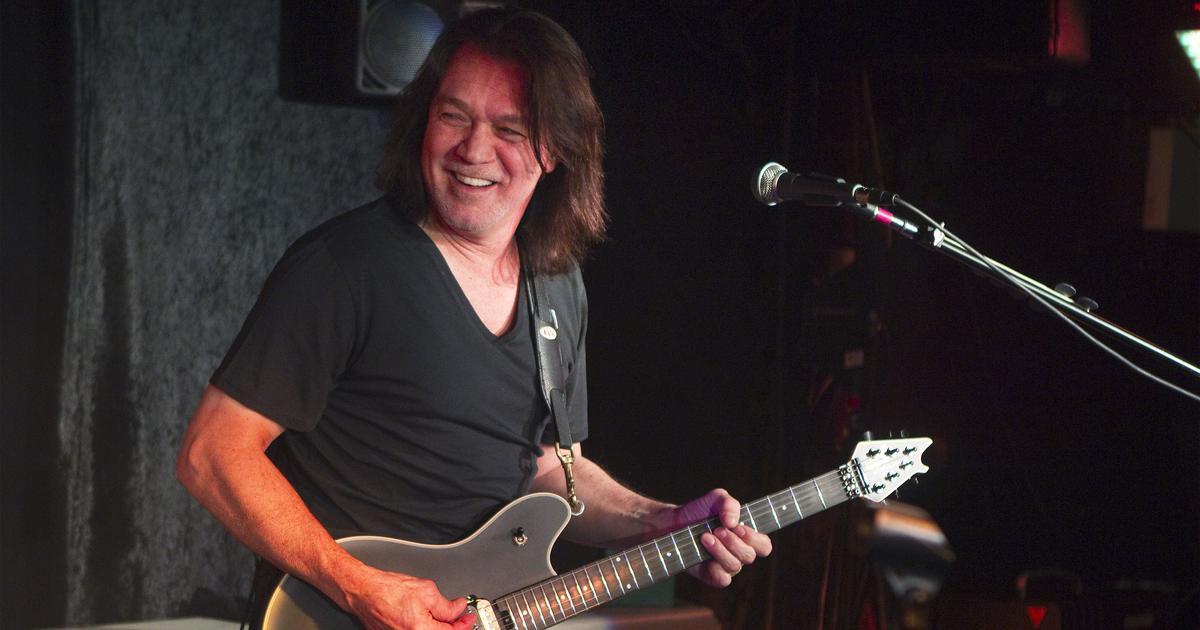 Iconic guitarist Eddie Van Halen dies of cancer at 65