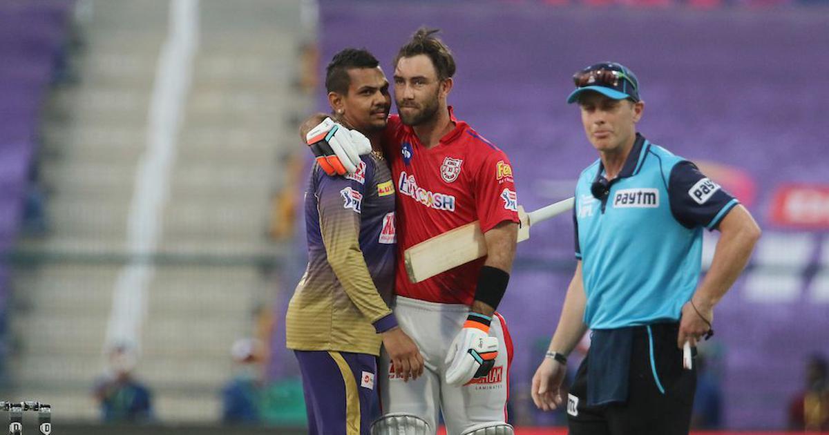 Watch: Sunil Narine's sensational last over, Glenn Maxwell's heartbreaking miss off the last ball